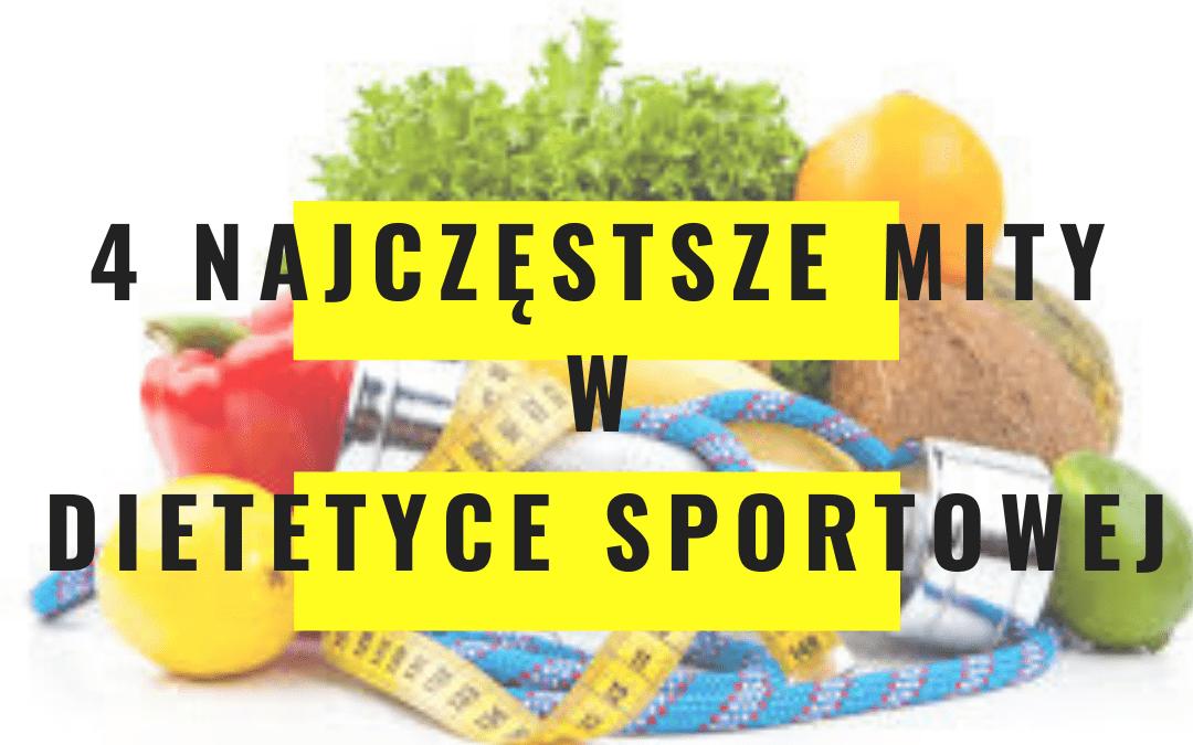 4 mity w dietetyce sportowej, w które (być może) nadal wierzysz