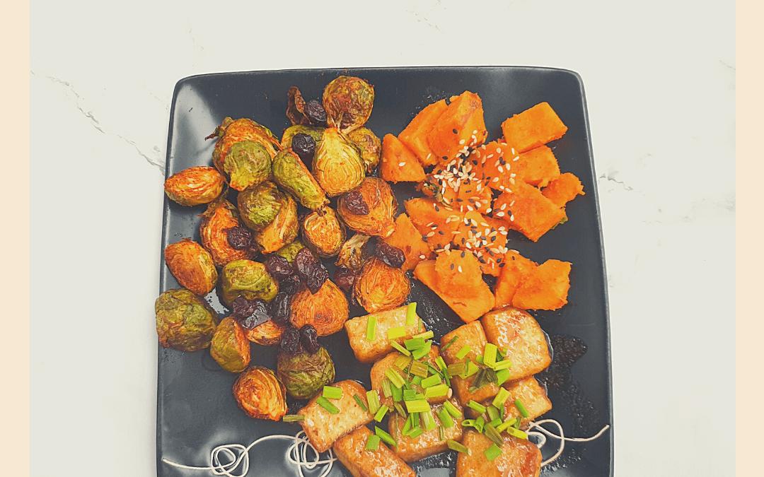 Przepis na wegański fit obiad